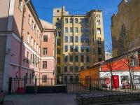 Петроградский район, улица Лизы Чайкиной, дом 21. многоквартирный дом