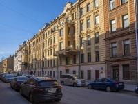 Петроградский район, улица Лизы Чайкиной, дом 22. многоквартирный дом