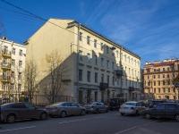 Петроградский район, улица Пионерская, дом 1. многоквартирный дом