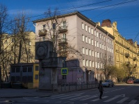 Петроградский район, улица Пионерская, дом 2. многоквартирный дом
