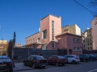 Петроградский район, улица Пионерская, дом 7. офисное здание