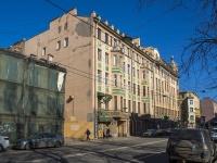 Петроградский район, улица Пионерская, дом 11. многоквартирный дом