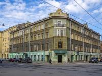 Петроградский район, улица Пионерская, дом 12/24. многоквартирный дом