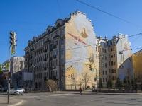 Петроградский район, улица Пионерская, дом 22. многоквартирный дом