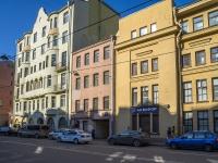 Петроградский район, улица Пионерская, дом 29. многоквартирный дом