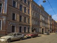 Петроградский район, улица Зверинская, дом 5. многоквартирный дом