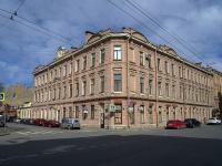 Петроградский район, улица Зверинская, дом 12. многоквартирный дом