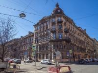 Петроградский район, улица Зверинская, дом 17Б. многоквартирный дом