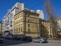 Петроградский район, улица Зверинская, дом 24. многоквартирный дом
