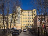 Петроградский район, улица Зверинская, дом 26. многоквартирный дом
