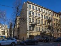Петроградский район, улица Зверинская, дом 32. многоквартирный дом