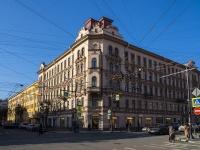 Петроградский район, улица Красного Курсанта, дом 1. многоквартирный дом