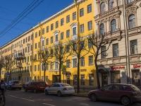 Петроградский район, улица Красного Курсанта, дом 3. многоквартирный дом