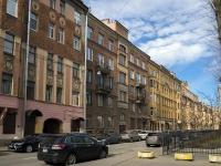 Петроградский район, улица Красного Курсанта, дом 7. многоквартирный дом