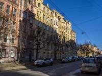 Петроградский район, улица Красного Курсанта, дом 9А. многоквартирный дом