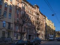 Петроградский район, улица Красного Курсанта, дом 9Б. многоквартирный дом