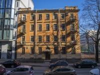 Петроградский район, улица Красного Курсанта, дом 10 ЛИТ Б. многоквартирный дом