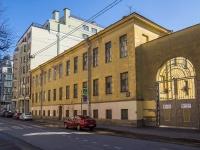 Петроградский район, улица Красного Курсанта, дом 12. многоквартирный дом