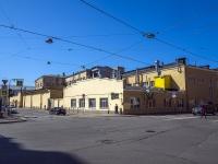 Петроградский район, улица Красного Курсанта, дом 19. многофункциональное здание