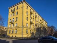 Петроградский район, улица Красного Курсанта, дом 22. многоквартирный дом