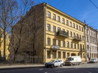 Петроградский район, улица Введенская, дом 8. многоквартирный дом