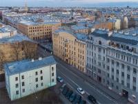 Петроградский район, улица Введенская, дом 9. многоквартирный дом