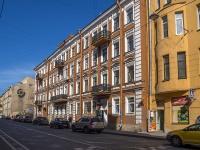 Петроградский район, улица Введенская, дом 12. многоквартирный дом