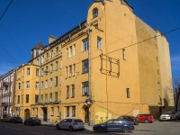 Петроградский район, улица Введенская, дом 14. многоквартирный дом