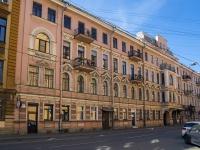 Петроградский район, улица Введенская, дом 17. многоквартирный дом