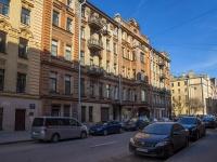 Петроградский район, улица Введенская, дом 19. многоквартирный дом