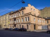 Петроградский район, улица Введенская, дом 22. офисное здание
