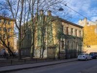 Петроградский район, улица Ропшинская, дом 10. аварийное здание