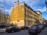 Петроградский район, улица Ропшинская, дом 12. многоквартирный дом