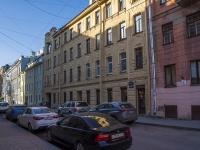 Петроградский район, улица Ропшинская, дом 13. многоквартирный дом