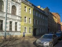 Петроградский район, улица Ропшинская, дом 15. многоквартирный дом