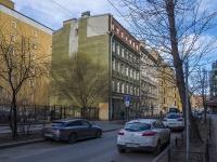 Петроградский район, улица Ропшинская, дом 20. многоквартирный дом