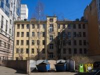 Петроградский район, улица Ропшинская, дом 25. многоквартирный дом