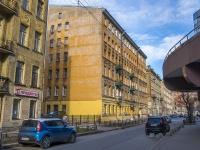 Петроградский район, улица Ропшинская, дом 28. многоквартирный дом