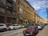 Петроградский район, улица Малая Гребецкая, дом 6. многоквартирный дом