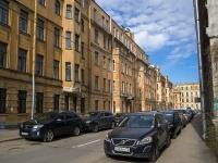 Петроградский район, улица Малая Гребецкая, дом 8. многоквартирный дом