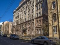 Петроградский район, улица Большая Разночинная, дом 3. многоквартирный дом