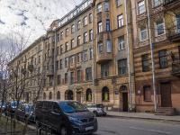 Петроградский район, улица Большая Разночинная, дом 4. многоквартирный дом
