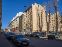 Петроградский район, улица Большая Разночинная, дом 7. многоквартирный дом
