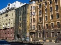 Петроградский район, улица Большая Разночинная, дом 9. аварийное здание