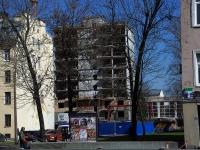 Фрунзенский район, улица Прилукская, дом 10. строящееся здание