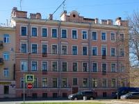 Фрунзенский район, улица Расстанная, дом 1. многоквартирный дом