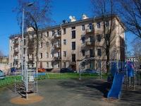 Фрунзенский район, улица Расстанная, дом 5. многоквартирный дом