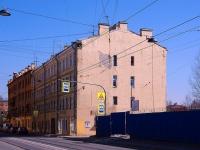 Фрунзенский район, улица Расстанная, дом 13. многоквартирный дом