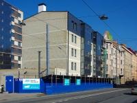 Фрунзенский район, улица Расстанная, дом 14 к.1. строящееся здание