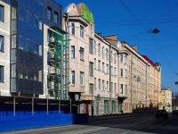 Фрунзенский район, улица Расстанная, дом 16. многоквартирный дом
